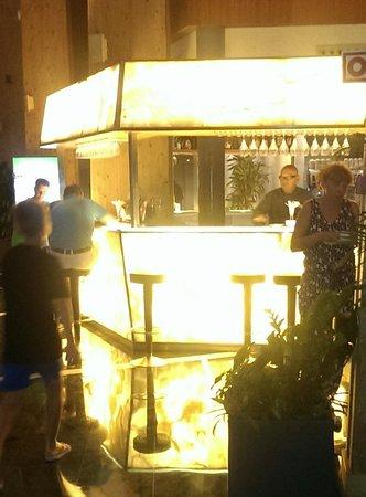 Protur Roquetas Hotel & Spa: reception bar