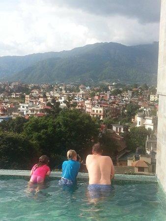 infinity pool picture of hotel shambala kathmandu tripadvisor rh tripadvisor in