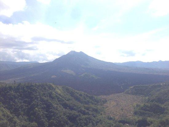 Batur Sari Restaurant : the view of the volcano