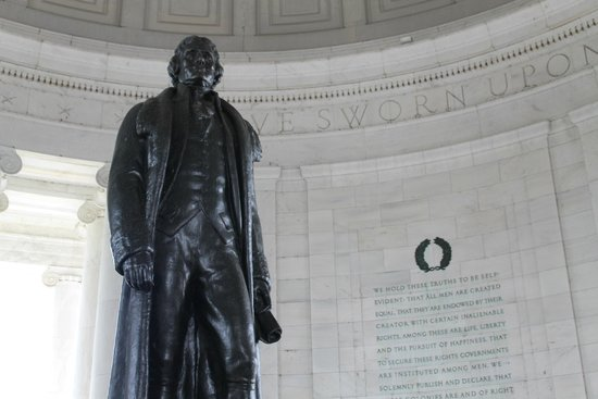Interior del Jefferson Memorial