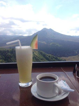 Batur Sari Restaurant : drinks