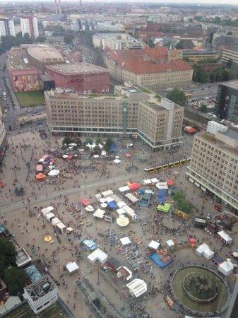 Park Inn by Radisson Berlin Alexanderplatz: view from our room 32 floor