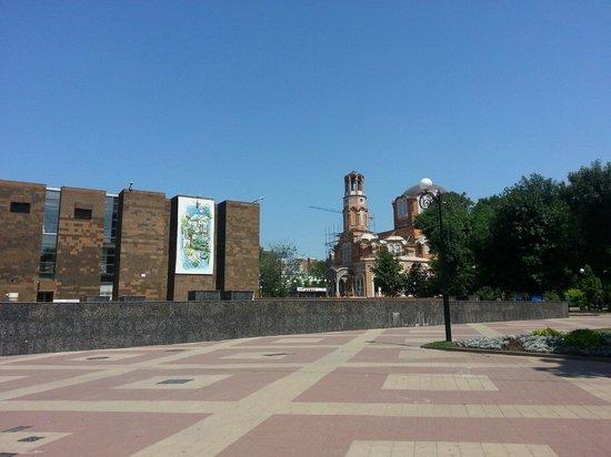 Pushkin Street (Pushkinskaya ulitsa): август 2014