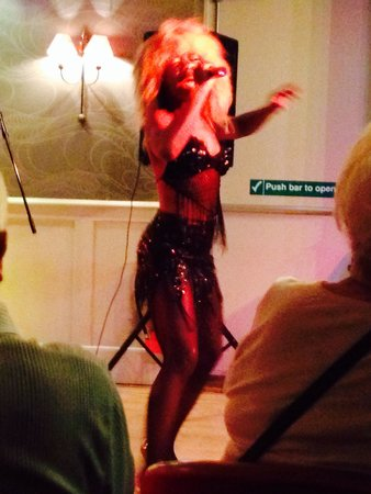 Elgin Hotel Blackpool: Tina turner!!!