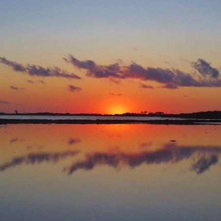 Lago Playa I: Sunset over the Salt Lakes