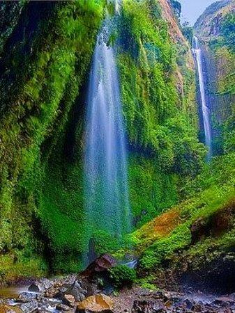 Madakaripura Waterfalls, Probolinggo, Indonesia