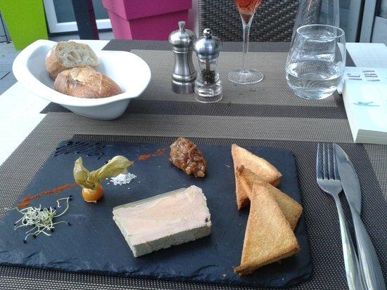 Restaurant Le 17 : Entrées: foie gras