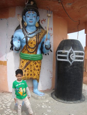Sri Ram Tirath Temple: inside