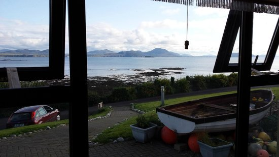 Sandrock Holiday Hostel : View from our room