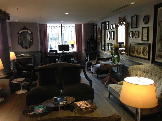 La Maison Favart: Hall/lobby del hotel
