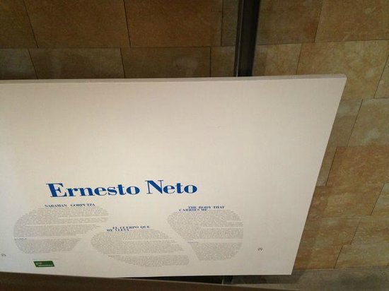 Museo Guggenheim de Bilbao: Temporary exhibition from Brazilian artist Ernesto Neto