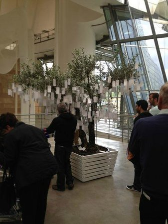 Museo Guggenheim de Bilbao: Interactive work as part of the permanent collection