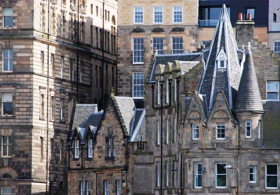 Motel One Edinburgh-Royal: Das Motel One Royal von außen