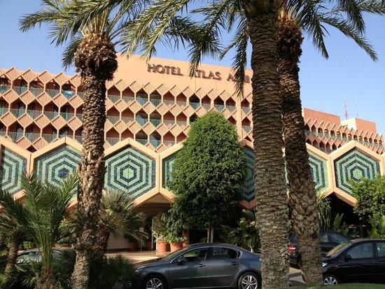 Hotel Atlas Asni: vista exterior
