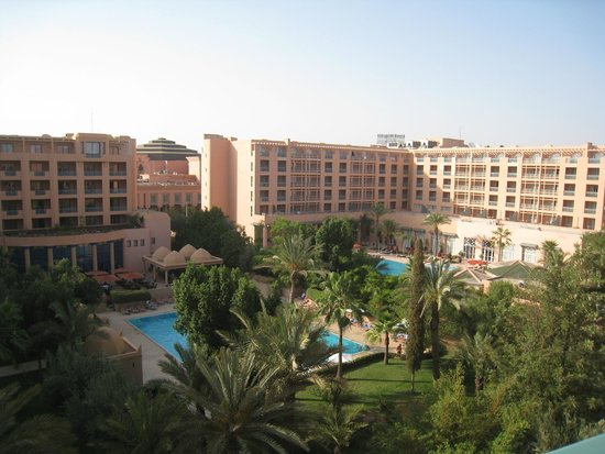 Hotel Atlas Asni: vista da piscina