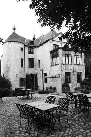 Thermae Boetfort Spa and Hotel: Le château et restaurant