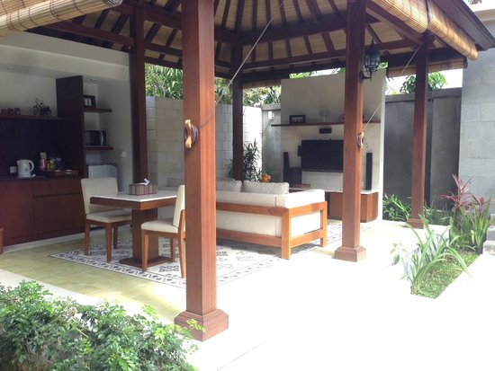 The Astari - Villa and Residence : outdoor private dining area