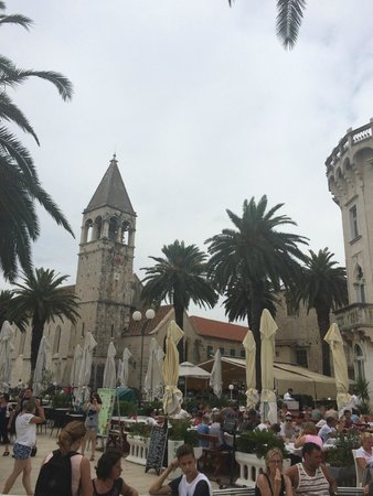 Weltkulturerbestätte Trogir: Trogir view