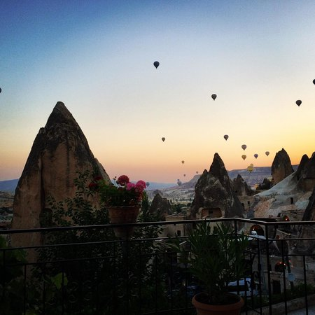 Sarihan Cave Hotel : Beautiful sunrise
