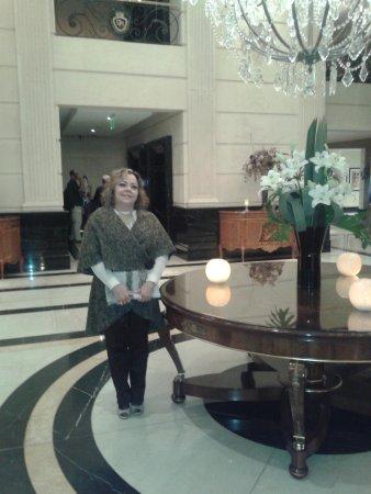 Recepção do Diplomatic Hotel