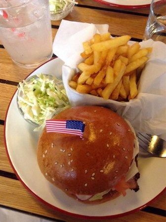 The Hamburger Foundation : Great medium rare burger