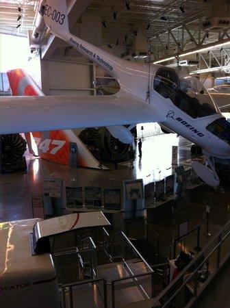 Future of Flight Aviation Center & Boeing Tour: EXPOSIÇÃO