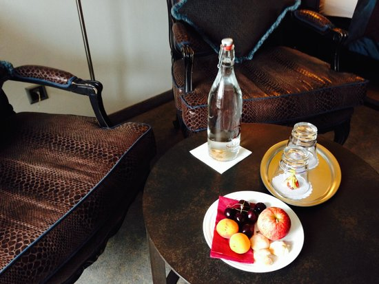 Schlosshotel Life & Style : Welcome fruit