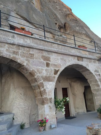 Sarihan Cave Hotel: Beautiful masonry