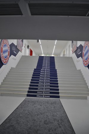 Allianz Arena: Player's tunnel