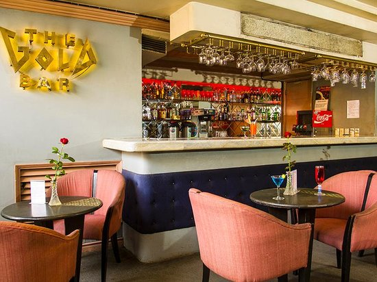 Nature's Pensionne: Enjoy at drink at the Gold bar at our sister hotel