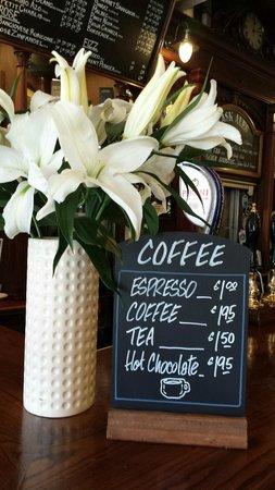 Bert's Bar: Fresh Hot Coffee
