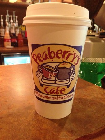 Peaberry's Cafe: A great local cup of coffee