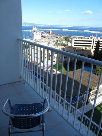 Hotel Amic Horizonte: Le balcon