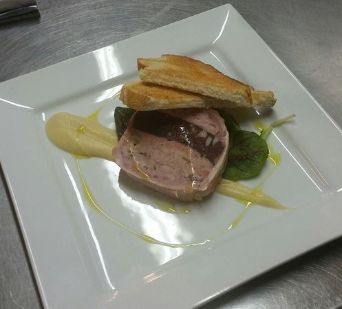 Gaerwen Arms: Homemade Pork and black pudding terrine