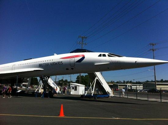 The Museum of Flight: concorde
