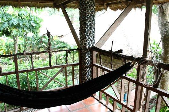 Le Bout du Monde - Khmer Lodge: balcony