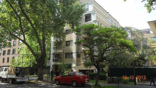 Park Plaza Apartments: Hotel Park Plaza - vista frontal