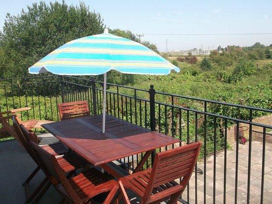 Elm House Bed & Breakfast: Balcony