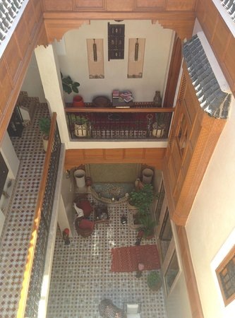 Riad Gallery 49 : View from the top