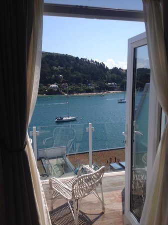 Salcombe Harbour Hotel & Spa: View from the bedroom