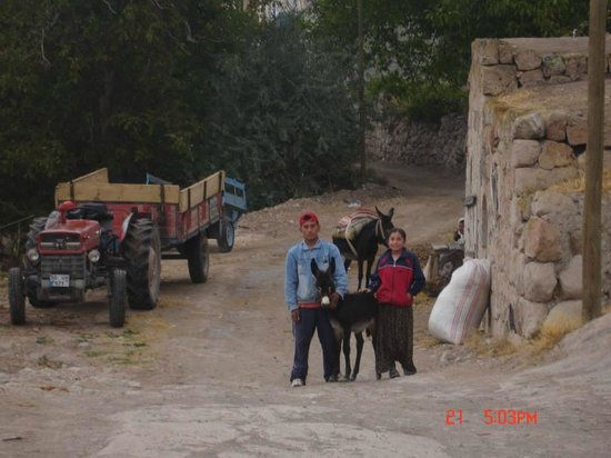 Cappadocia Akkoy Evleri Caves : locals