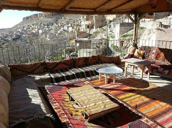 Cappadocia Akkoy Evleri Caves : terrace