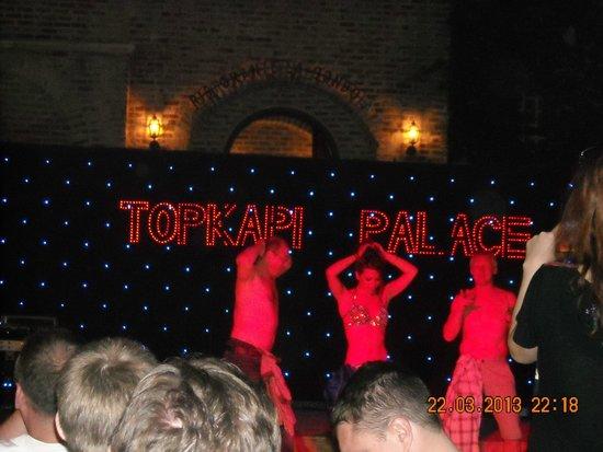 WOW Topkapi Palace: Танец живота