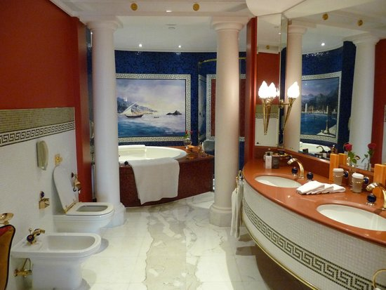 Burj Al Arab Jumeirah : Bathroom