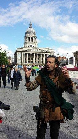 Nottingham Robin Hood Town Tour: Market Square