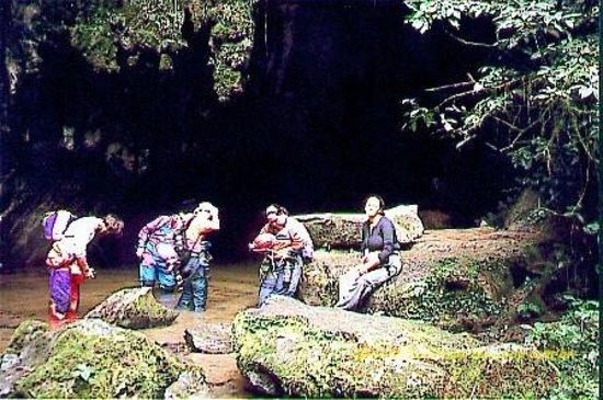 Petar National Park: entrada da agua suja