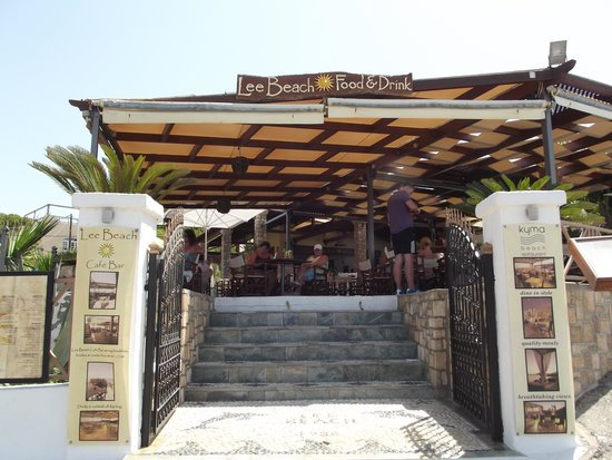 Lee Beach Cafe Bar: Lee Beach