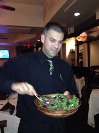 Chris & Tony's Restaurant: This is John. a most colorfull and pleasant server!
