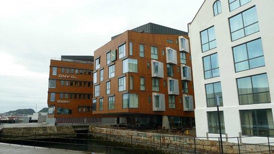 Quality Hotel Waterfront Alesund: Aussenansicht vom Hotel