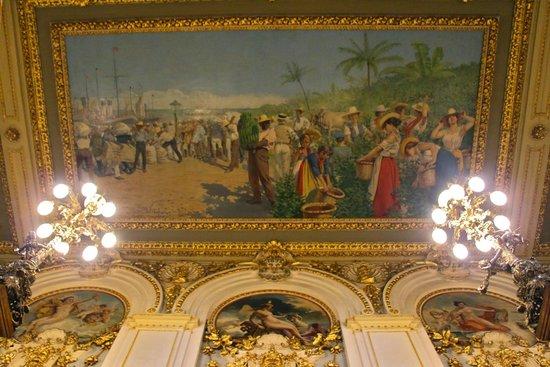 Teatro Nacional Costa Rica: Ceiling